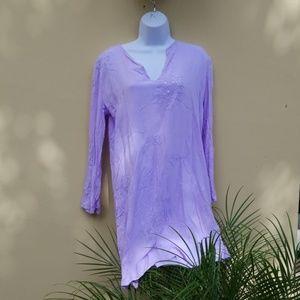 Warehouse Purple Tunic